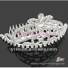 wedding crystal tiara comb