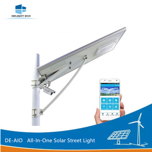 DELIGHT DE-AIO Motion Sensor All-In-One Solar Street Light