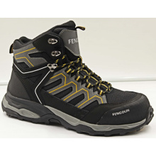 High ankle construction low price safety boots
