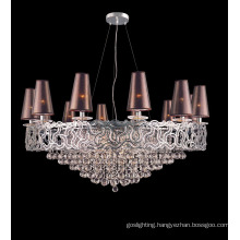 Luxury Hotel Project Pendant Lamp with Lampshade (WX8822B-18)