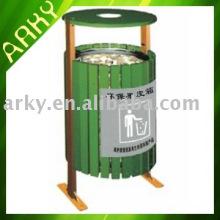 Good quality Outdoor Wooden Garbage Bin