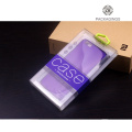 Box for cell phone case blister packaging