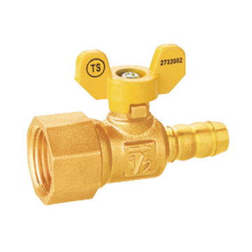 Kuningan Perempuan Thread Integral Leakproof Gas Ball Valve