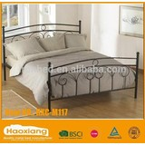 New fashion style modern double metal bed