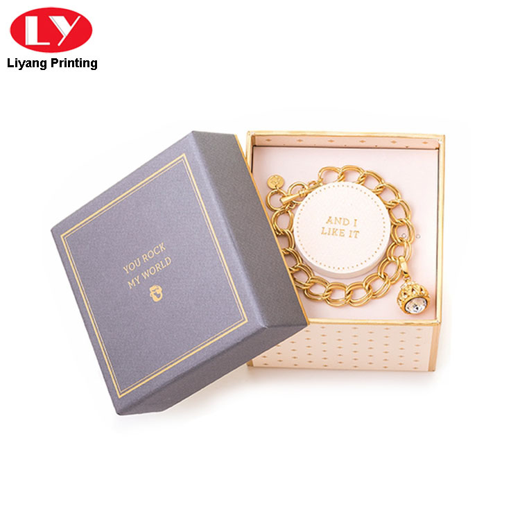 Bracelet Box With Lid