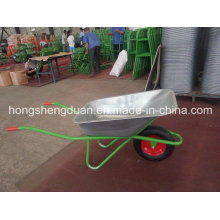 China Wheel Barrow Have Galvanize Tray