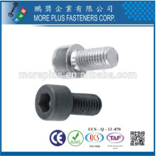 Taiwan DIN Standard Stainless M2 Precise Hexagon Socket Knitled Round Head Screw Socket Head Cap Screw