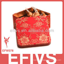 Delicate Red Chinese Style Wedding Favor Box made in China