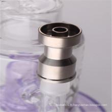10 mm / 14 mm Domeless Grade 2 Clou en titane pour fumer du tabac (ES-TN-034)