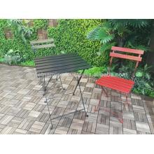 Umweltfreundlicher Bistrotisch und Stuhl / Gartenmöbel aus Vietnam