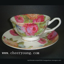 Coffee Cup and Saucer (CY-B532)