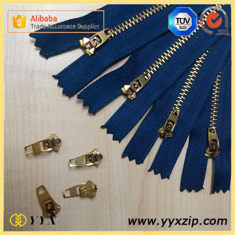 3# YG zipper & Slider
