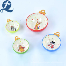 Fashion Hot Selling Cute Printed Stoneware Ceramic Relief cup with Handle