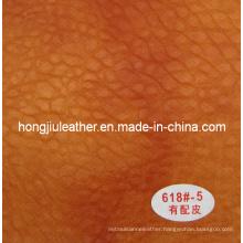 2014 Top Quality Thick Sipi PU Leather (Hongjiu-618#)