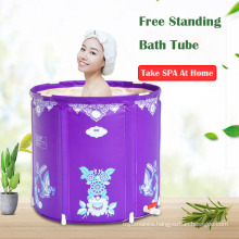 Portable free standing bathtub Adult inflatable pool