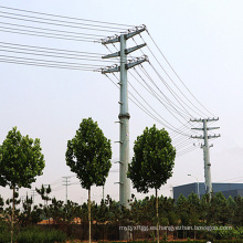 10kv Transmisión de potencia Monopole Tower