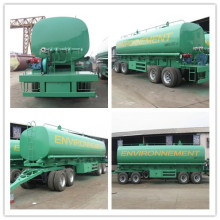 China Exported 40000L Stainless Steel Water Tanker Trailer