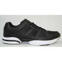 schwarze Männer Sport Laufschuhe