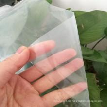 100% neues Material Gemüse schützen Treibhausfilm mit UV-Block