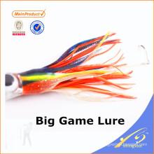 SKL022 горячее надувательство Китай поставщик оптовой продажи рыболовные снасти кальмар юбки приманки большая игра