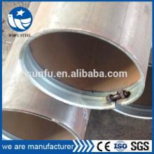 Alimentation en usine ISO 14001 soudé noir S235JR prix du tuyau en acier