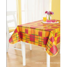 PEVA Tablecloth with Nonwoven backing (TJ0207)