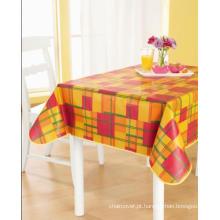 Toalha de mesa PEVA com apoio não tecido (TJ0207)