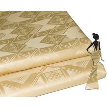 Feitex Différents Types Coton Imprime Tissus Chine Tissu Marché En Gros Bazin Riche Jacquard Robe