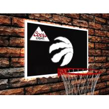 Coorslight NBA basketball light sign