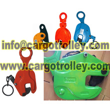 Lifting clamps application and price list