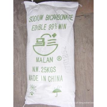 Pó Branco / Acs Certificado / 99,7% a 100,3% / Bicarbonato de Sódio (COMESTÍVEL)