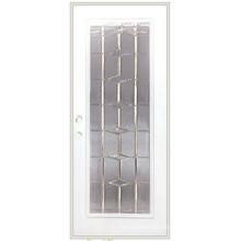 Volles Lite-dekoratives Glas eingefügte Gebrauchs-Stahltür