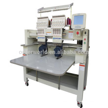 Double Head Computer Embroidery Machine for cap, flat, t-shirt embroidery OEM902C/1202C prices