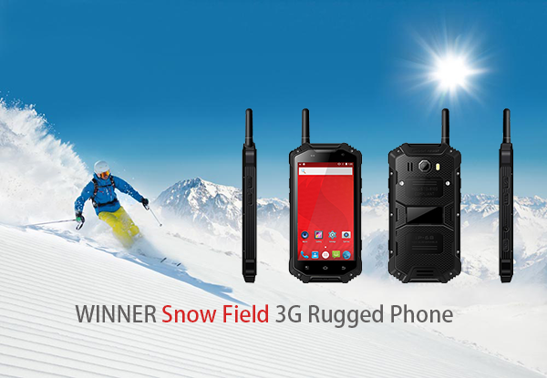 Snow Field 3G Rugged Phone