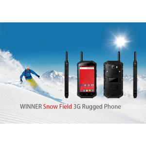 Snow Field 3G telefono robusto