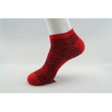 Double Needle Jacquard Cotton Ankle Socks (WA201)