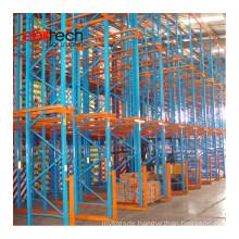 Nanjing Ebilmetal Rack Expert Drive in Racking Powder Coated Pallet Drive-in Storage Racking System