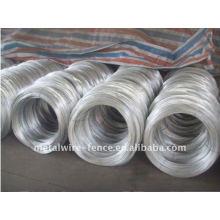 0.9-2.4mm, 8-20g / m2 revestido de zinco barato galvanizado preço do fio de ferro