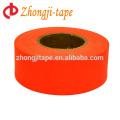 оранжевый ПВХ маркировки предупреждение ленты