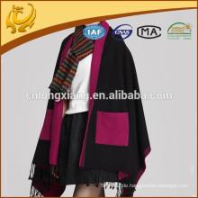 Chinesische Fabrik Blank Color Wrap Schal Design Multipurpose Schal