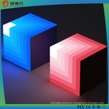 2017 Most Fashion Square Wireless LED Light Bluetooth Speaker