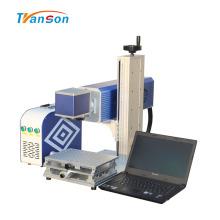 Миниатюрная лазерная маркировочная машина CO2 для деревянной кожи