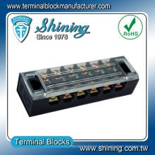 TB-2506 Conector de alambre extraíble de plástico de alta tensión de 25 A de 6 clavijas