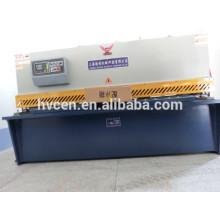 Automatische Aluminium-Blatt-Schneidemaschine / qc12y-6 * 3200 dünne Blatt-Schneidemaschine