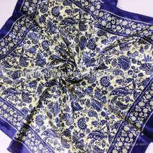 Écharpe en soie en mousseline de soie au printemps 2014