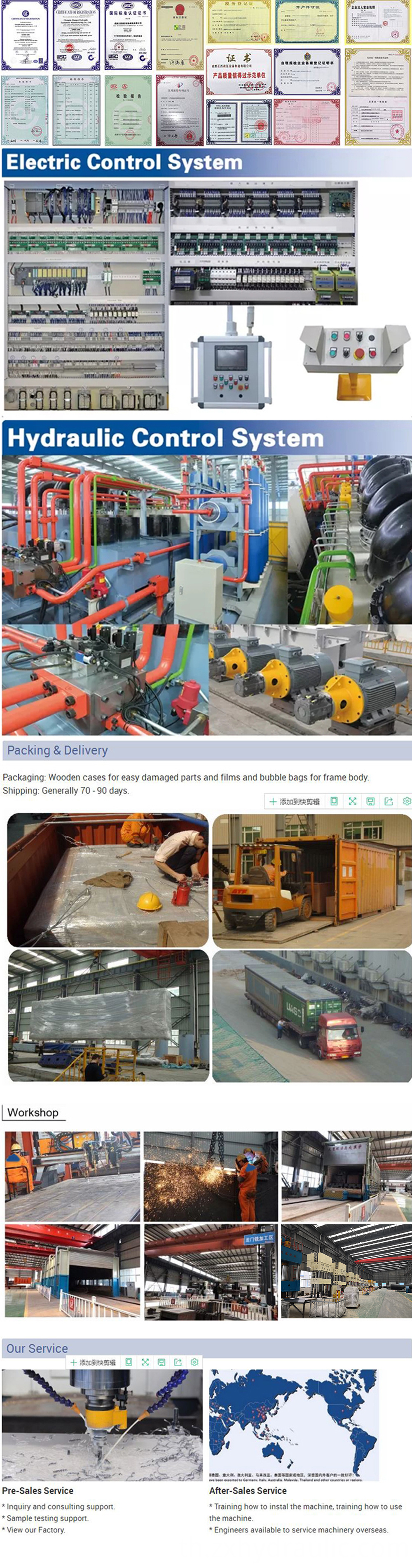 Hydraulic Press Machine Factory Details