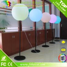 Ballon chaud de support d'illumination de vente, boule d'éclairage de LED avec le parenthèse