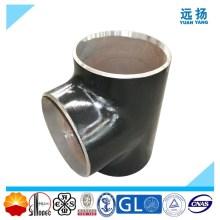 ASTM A234 Wpb Acero al Carbono Igual Tee con Calidad Superior