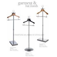 Stand de vêtement de vêtement pour homme Garment Stand Valet Stand