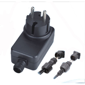 wall mount adapter 12V1A IP44 waterproof  for outdoor use